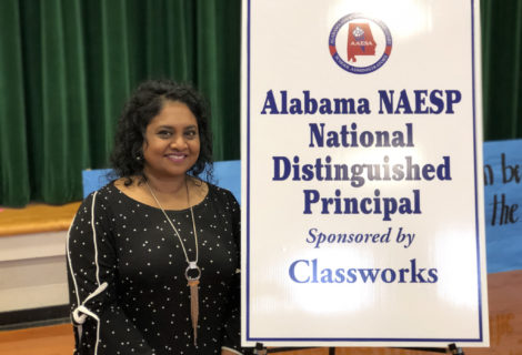 Hoover principal wins national award