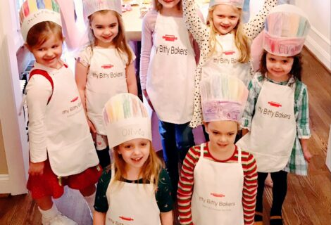 Baking with kids